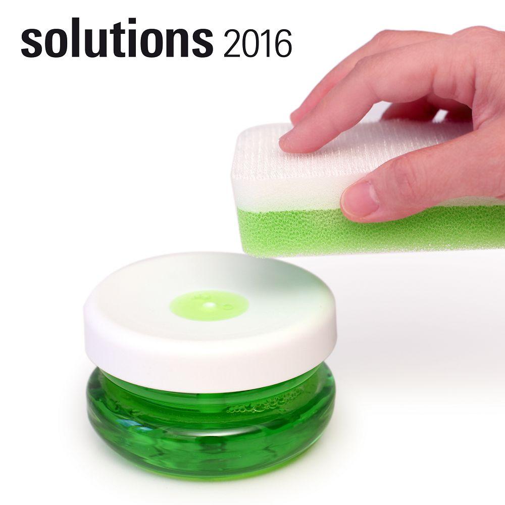 BOSIGN Stockholm|輕巧環保給皂罐(純淨白)