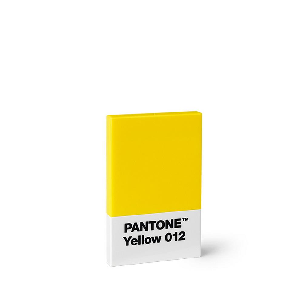 Room Copenhagen|Pantone 色票多用名片盒 (012 黃色)