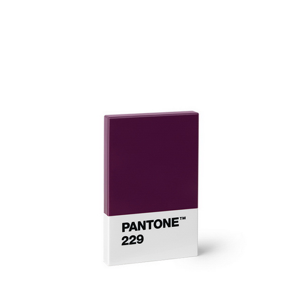 Room Copenhagen|Pantone 色票多用名片盒(229 波爾多紅酒)