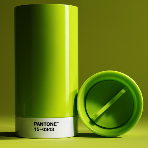 Room Copenhagen|Pantone 色票保溫隨行杯(012 黃色)