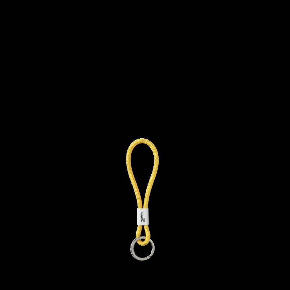 Room Copenhagen|Pantone 色票短鑰匙圈 (012 亮黃)