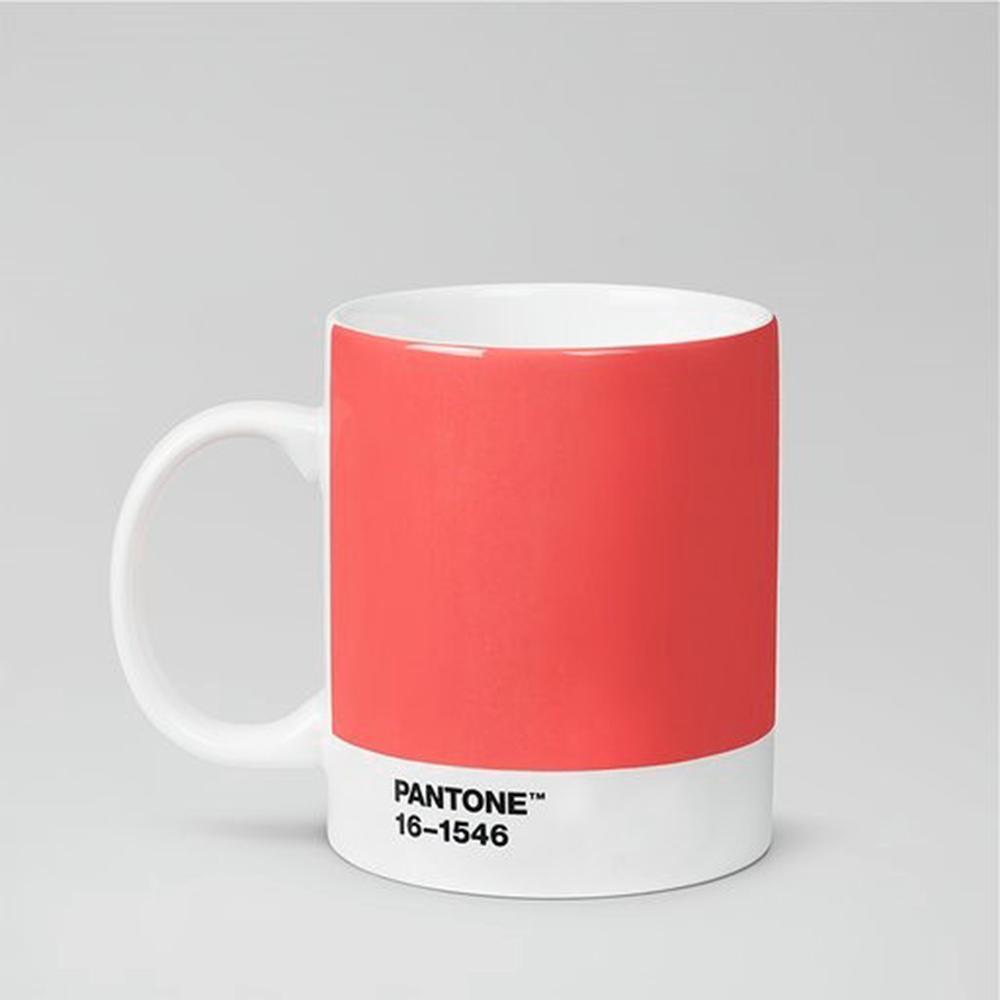 Room Copenhagen|Pantone 色票馬克杯(2019年度色活珊瑚橘 美國原廠限量盒裝紀念版)