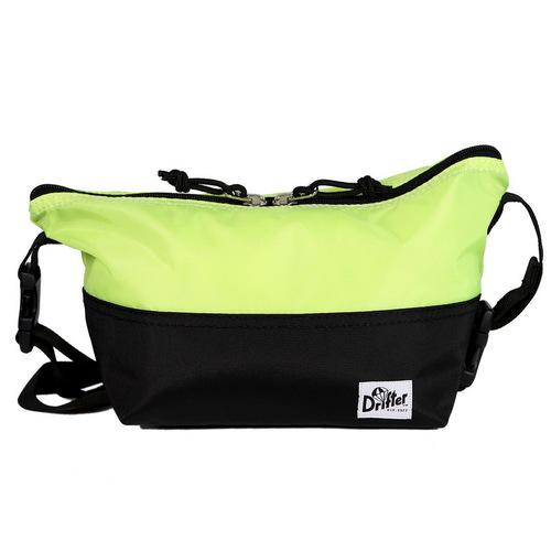Drifter 防潑水三用小型隨行單肩包 (螢光黃+純然黑)