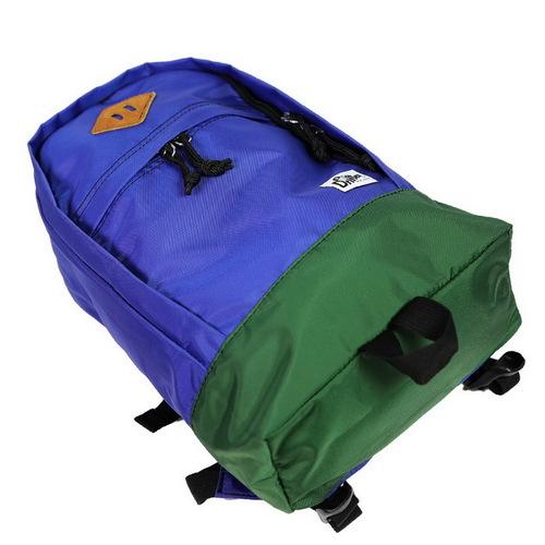 Drifter|防水抗撕裂兒童後背包 (明亮藍+森林綠)