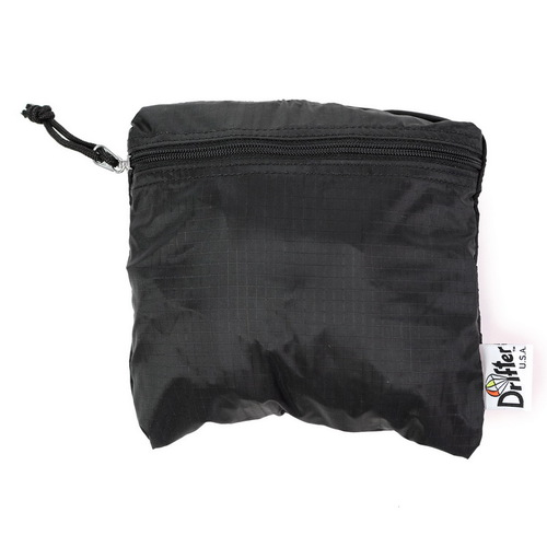 Drifter|飛行旅人跳傘布後背包 (純然黑)