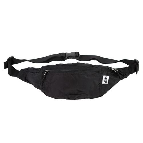 Drifter|防潑水隨身多夾層腰包 (純然黑)