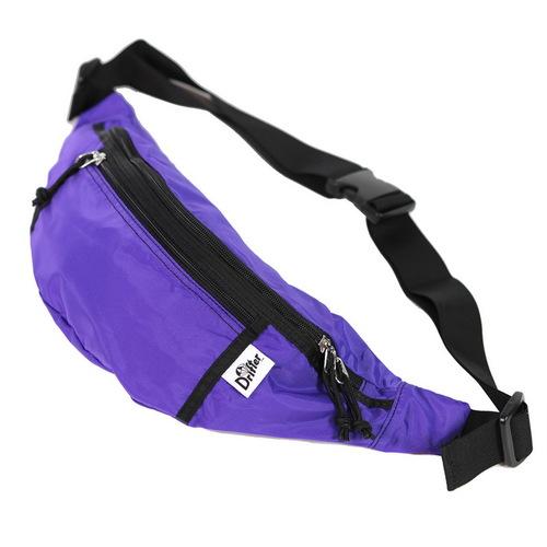 Drifter 防潑水隨身多夾層腰包 (紫水晶)