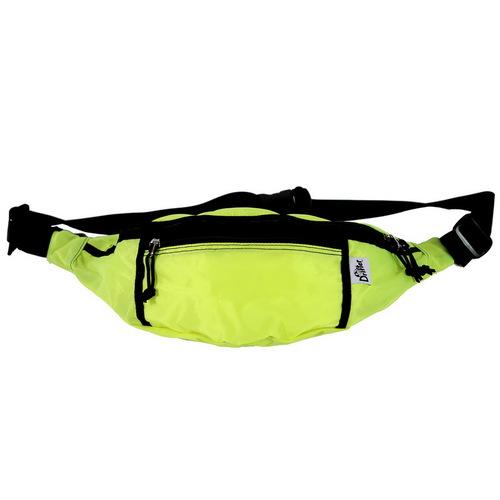 Drifter 防潑水隨身多夾層腰包 (螢光黃)