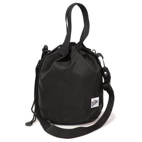 Drifter|防潑水輕巧抽繩水桶包 (純然黑)