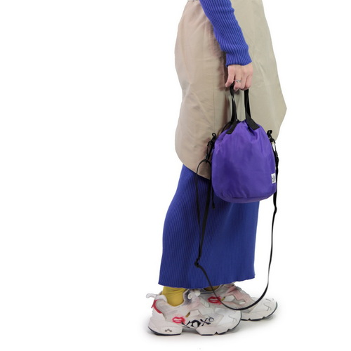 Drifter|防潑水輕巧抽繩水桶包 (紫水晶)
