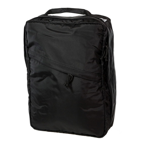 Drifter 防水抗磨商務方形後背包 (純然黑)