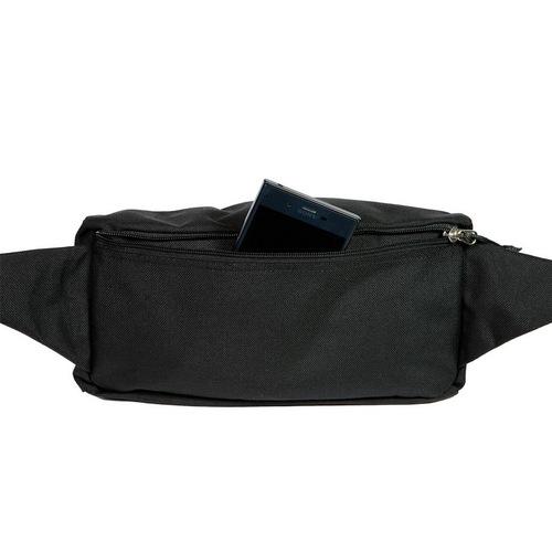 Drifter|防水抗撕裂中型兩用單肩包 (純然黑)