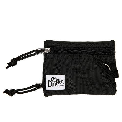 Drifter 尼龍防水鑰匙零錢卡包 (純然黑)