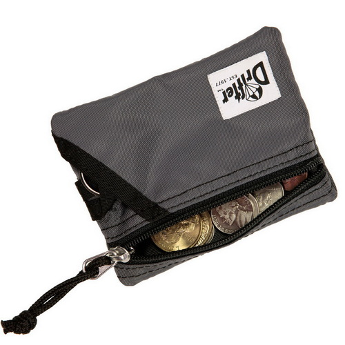 Drifter 尼龍防水鑰匙零錢卡包 (沉穩灰)
