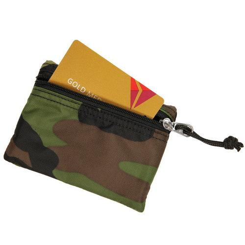 Drifter 尼龍防水鑰匙零錢卡包 (迷彩)