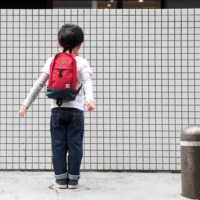 (複製)Drifter 兒童後背包 (明亮藍+森林綠)