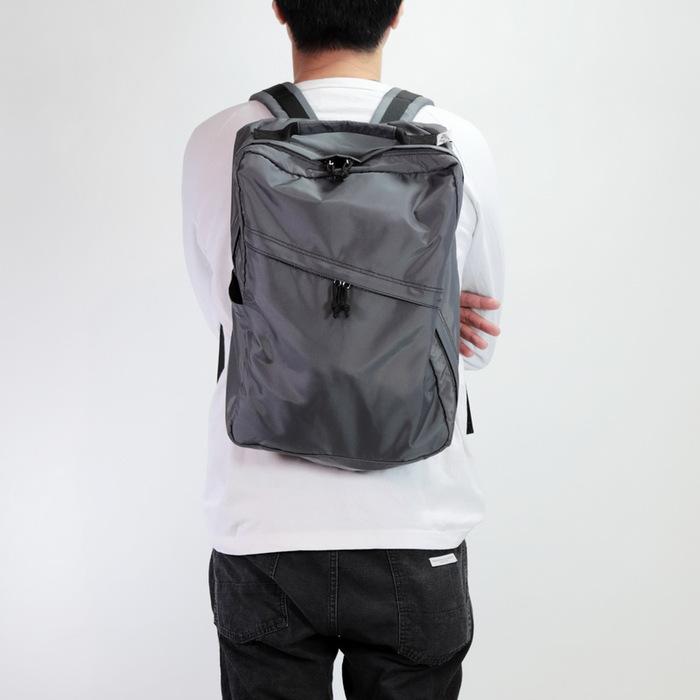 (複製)Drifter|方形商務後背包 (純然黑)