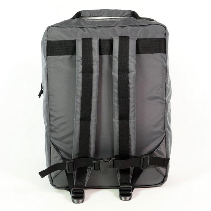 Drifter|防水抗磨商務方形後背包 (海軍藍)
