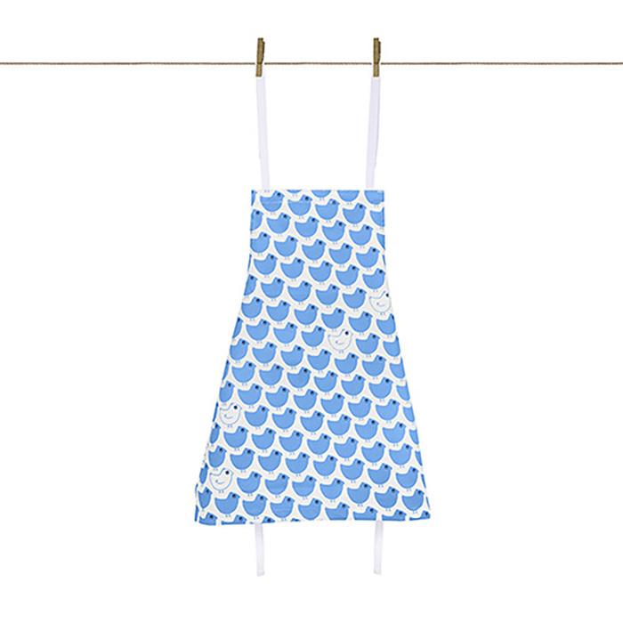 廚房的美好時光-孩童圍裙 Minipoussin bleu