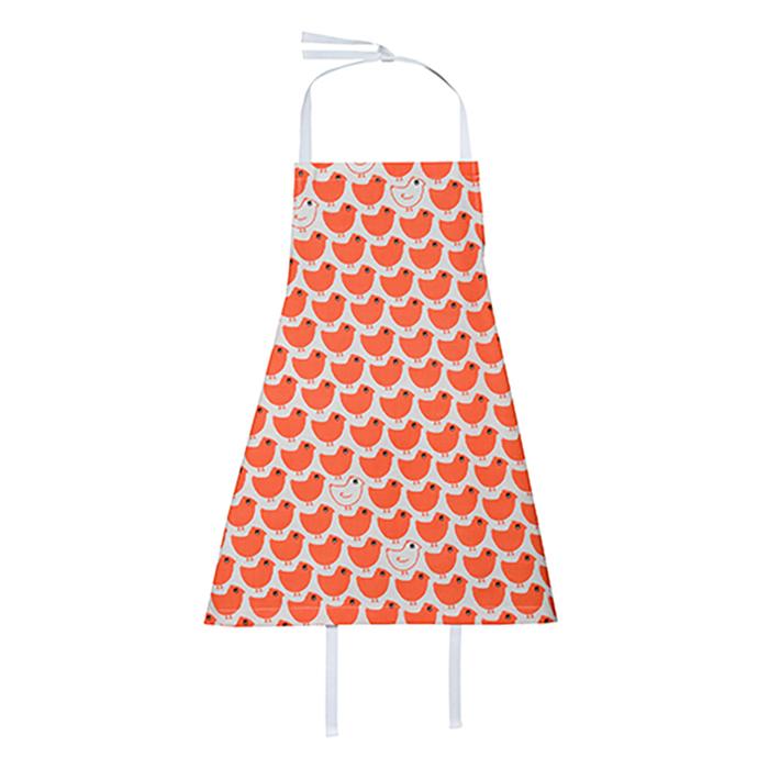 (複製)廚房的美好時光-孩童圍裙 Chevron rouge coquito