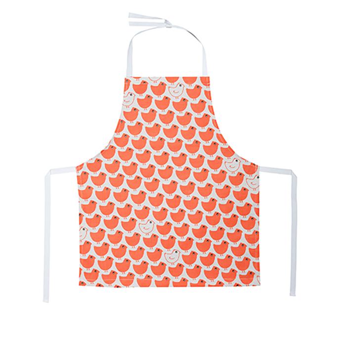 廚房的美好時光孩童圍裙 Red Minipoussin