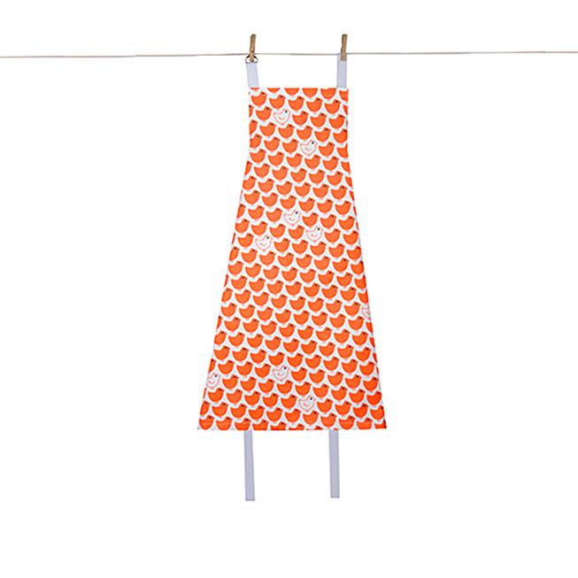法國 La Cocotte Paris|廚房的美好時光圍裙 Tablier Poussin Rouge