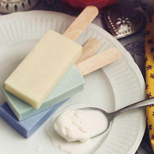 雪文洋行|沁透快樂冰棒皂-蘭布拉琥珀(琥珀白薑花)72%馬賽皂