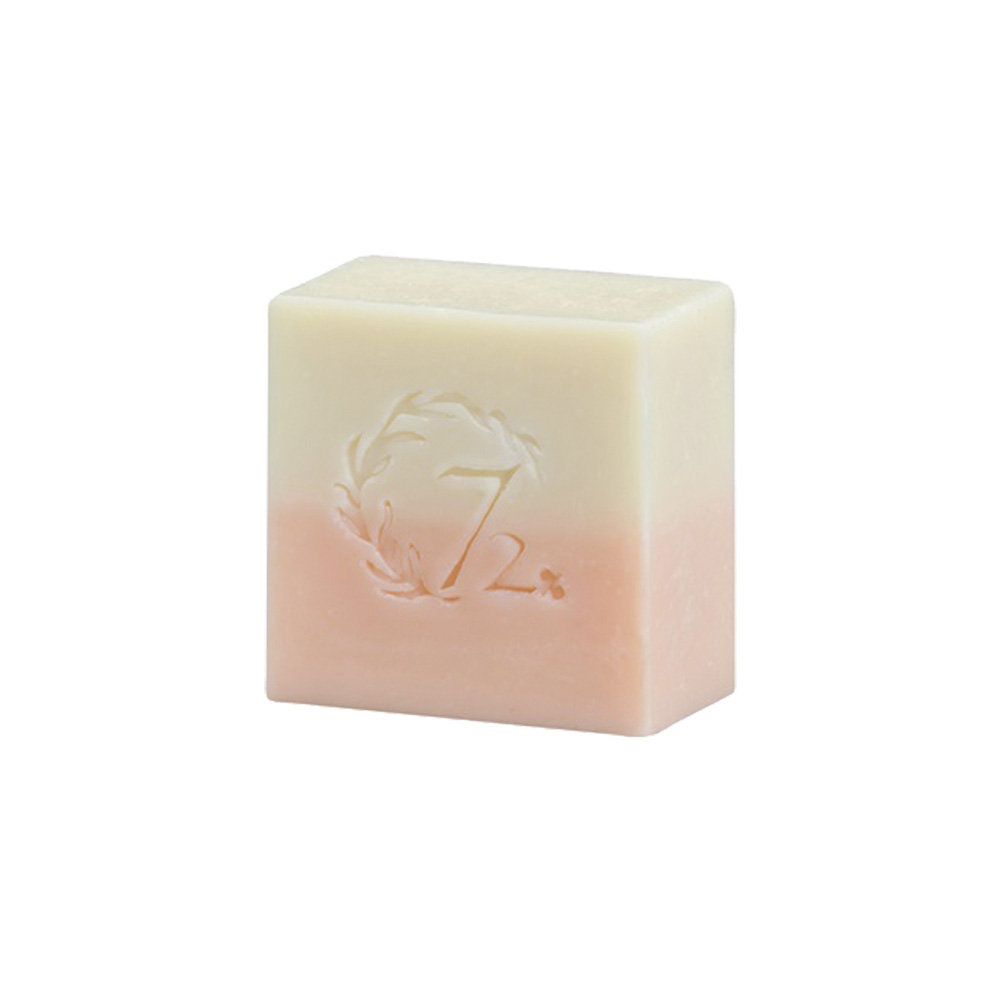 雪文洋行|粉紅水嫩臉部專用皂