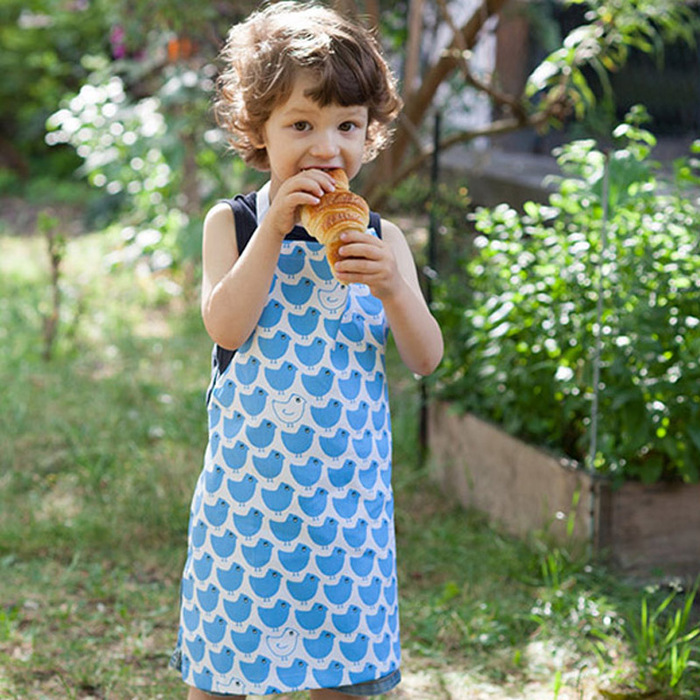 法國 La Cocotte Paris|廚房的美好時光 孩童圍裙 Minipoussin Rouge