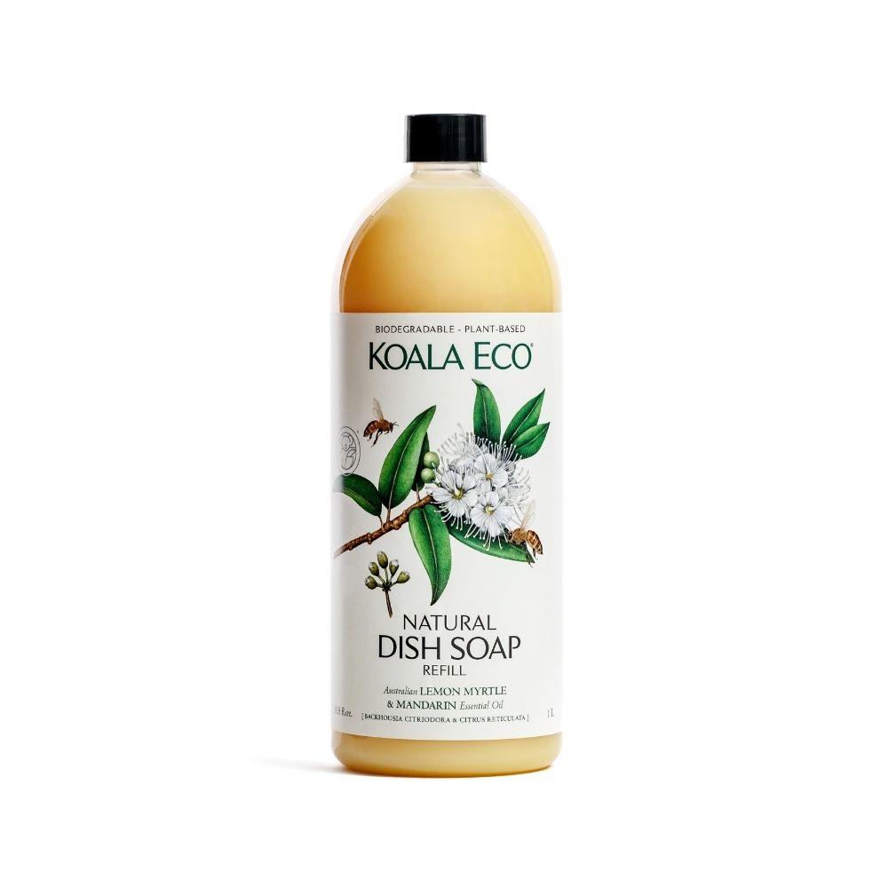 澳洲科菈Koala Eco|光澤洗碗精 補充瓶1000ml