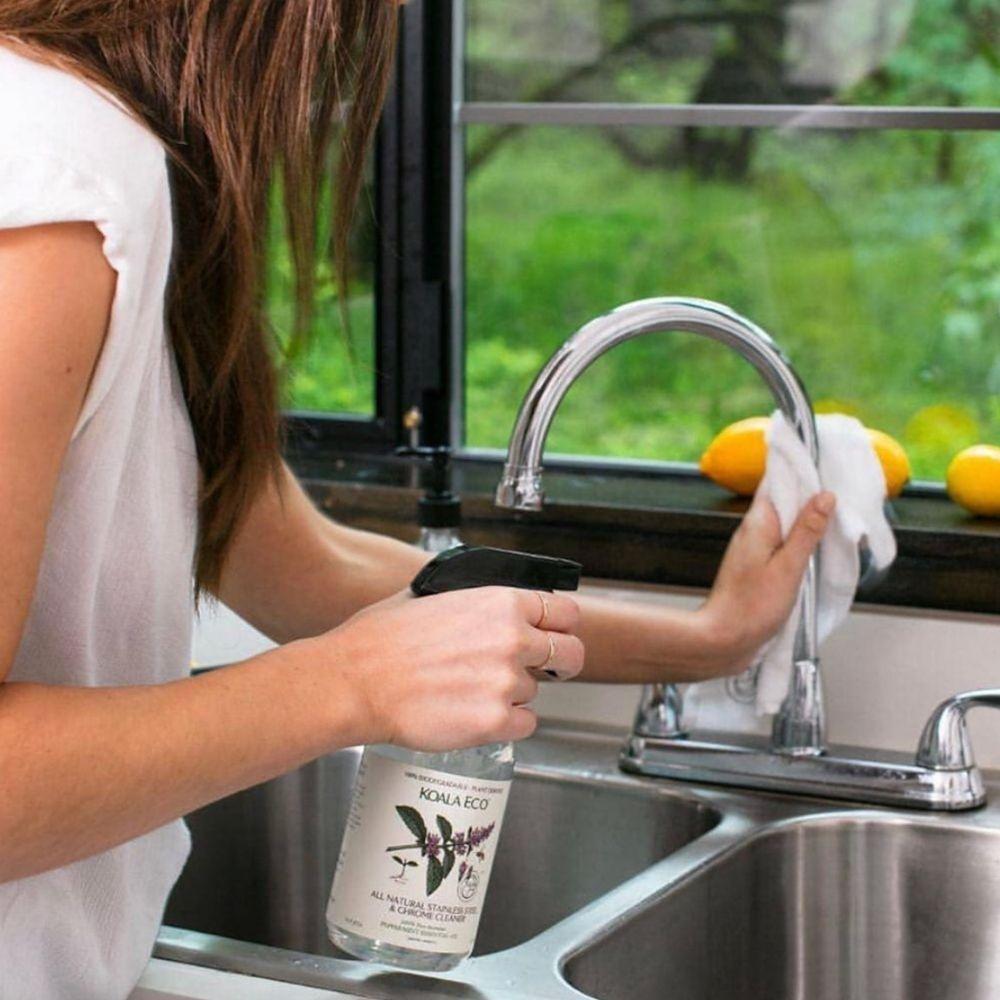 澳洲科菈Koala Eco|銀光不鏽鋼專用清潔劑500ml