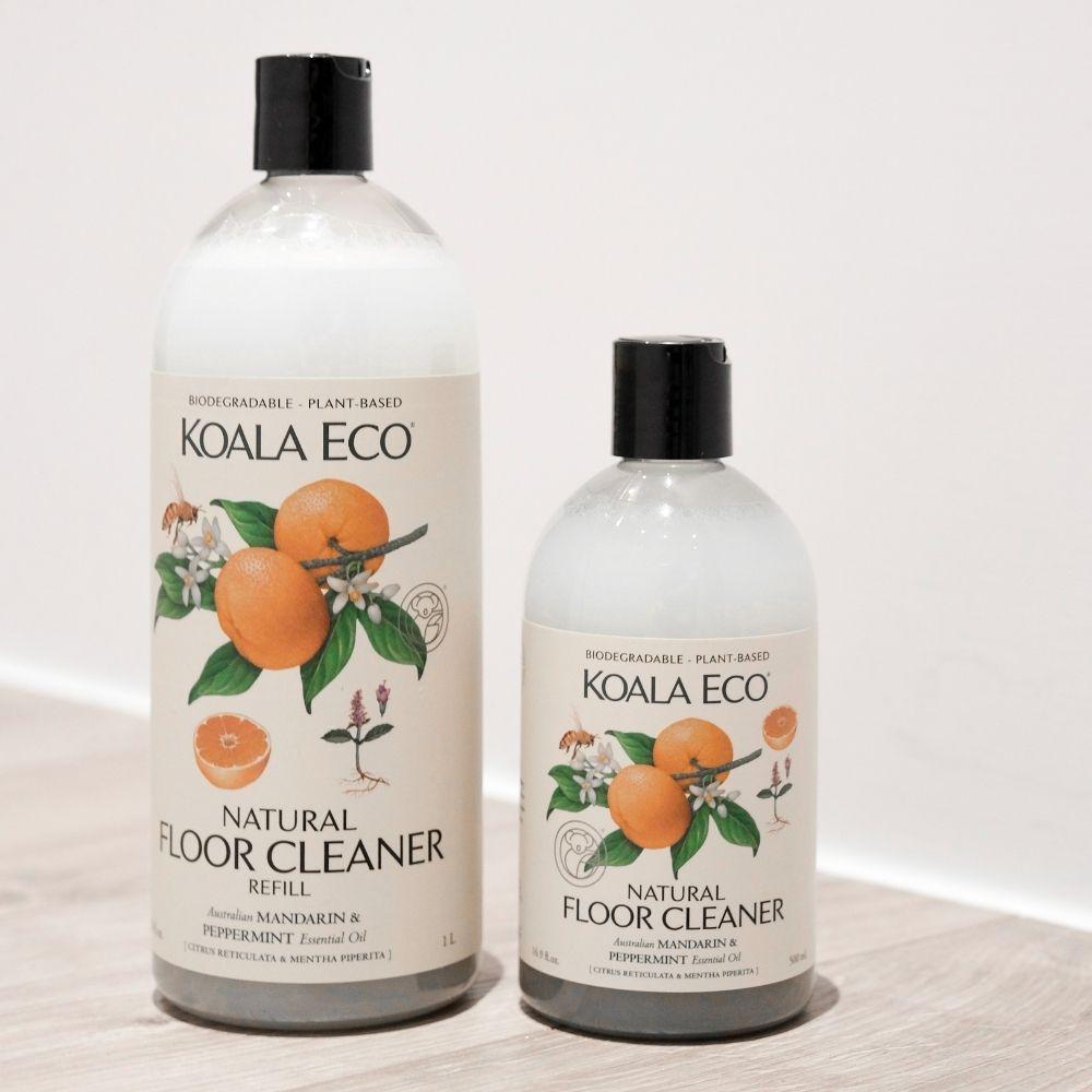 澳洲科菈Koala Eco|純淨地板清潔劑 補充瓶1000ml