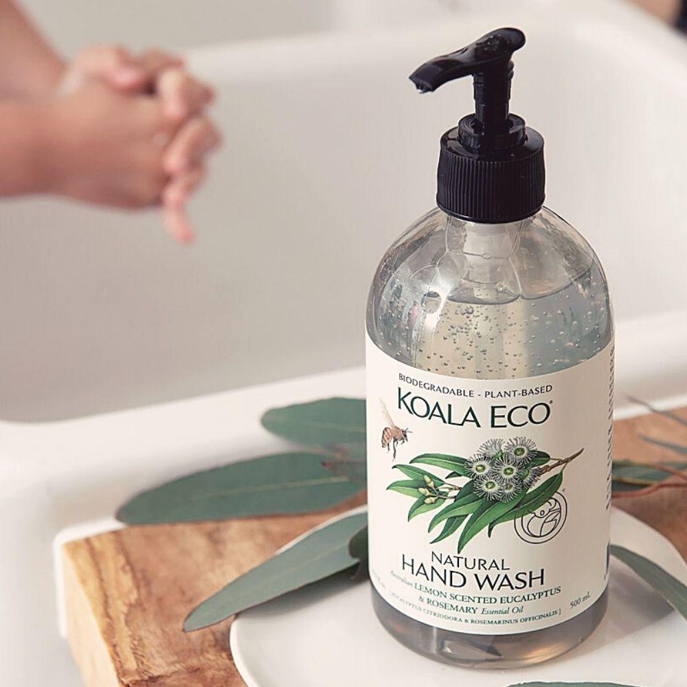 澳洲科菈Koala Eco|洗潤呵護組(檸檬尤加利&迷迭香)