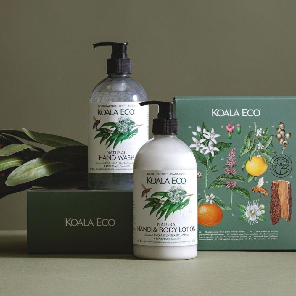 澳洲科菈Koala Eco|洗潤呵護二入組禮盒(檸檬尤加利&迷迭香)