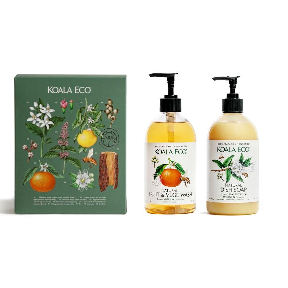 澳洲科菈Koala Eco|安心飲食清潔二入組禮盒