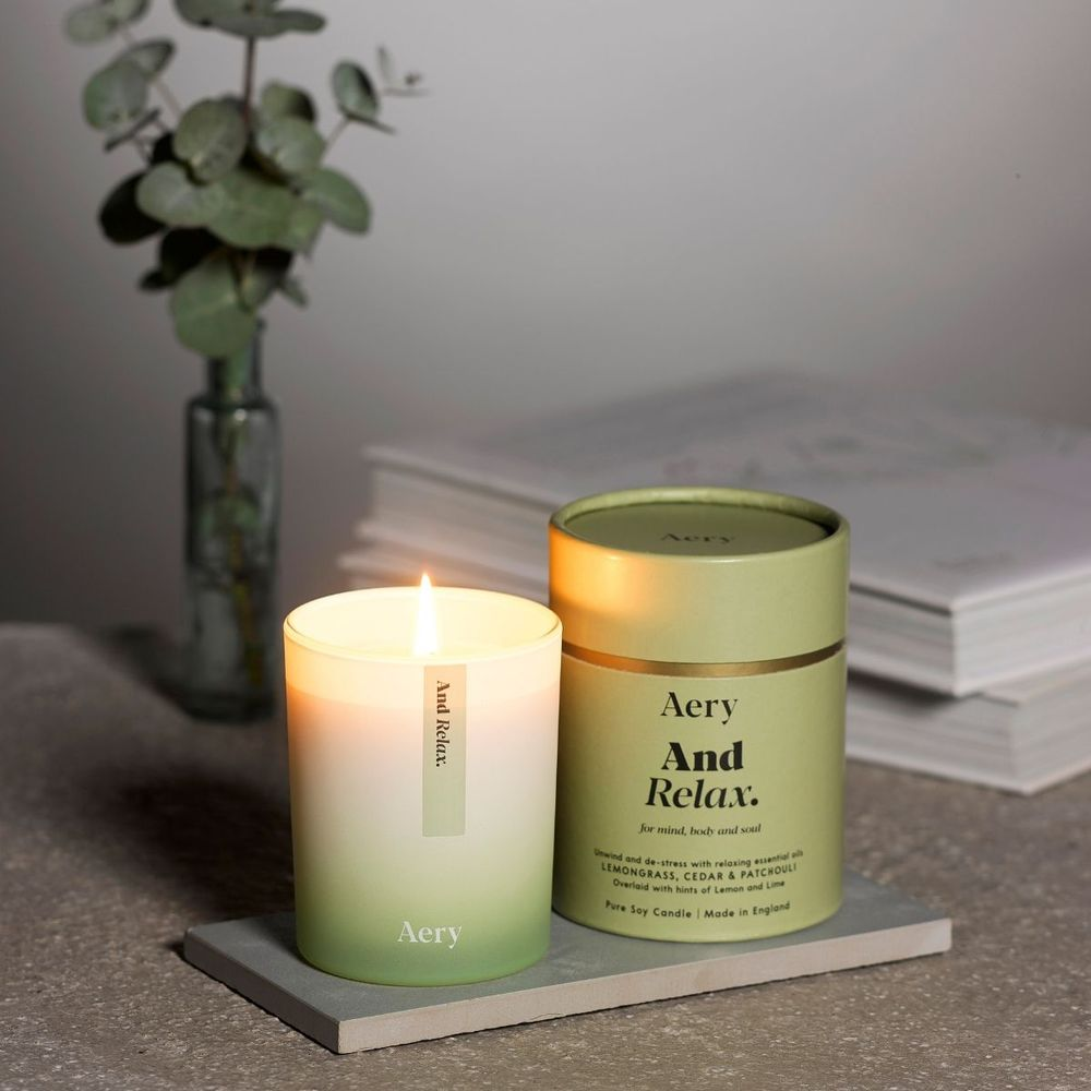 英國Aery|放鬆200ml香氛蠟燭