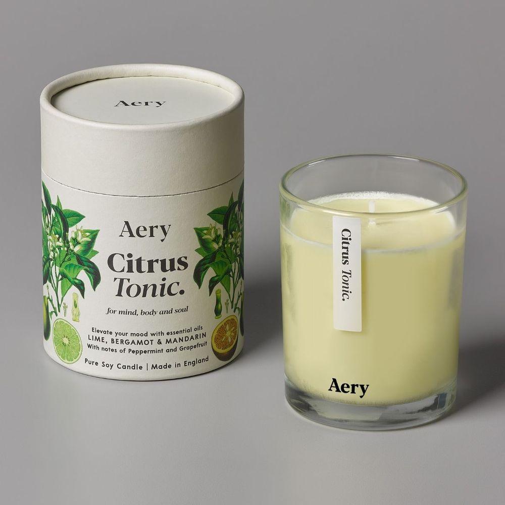 英國Aery|柑橘通寧200ml香氛蠟燭