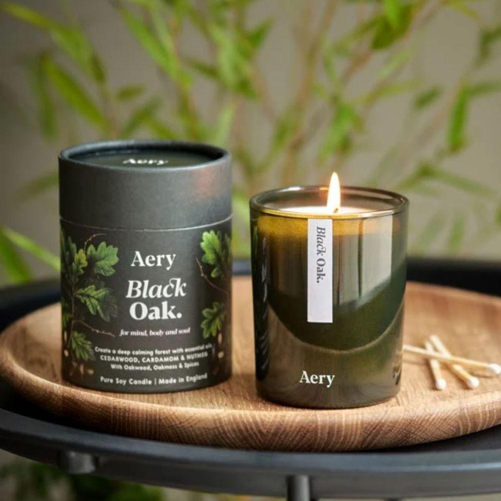 英國Aery|黑橡木200ml香氛蠟燭