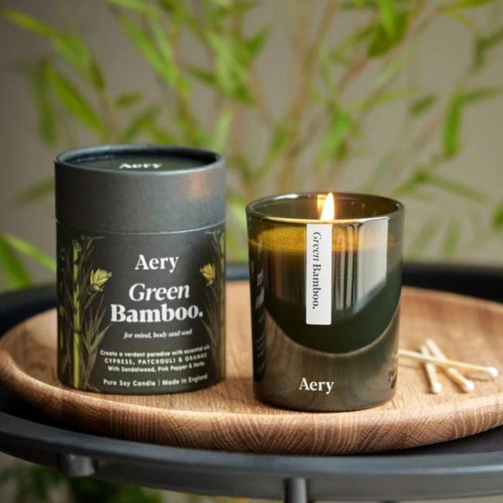 英國Aery|綠竹200ml香氛蠟燭