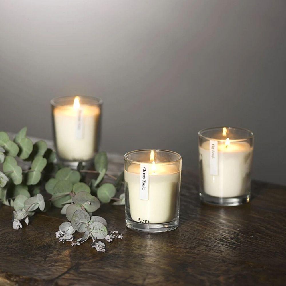 英國Aery 植物學-香氛蠟燭三入禮