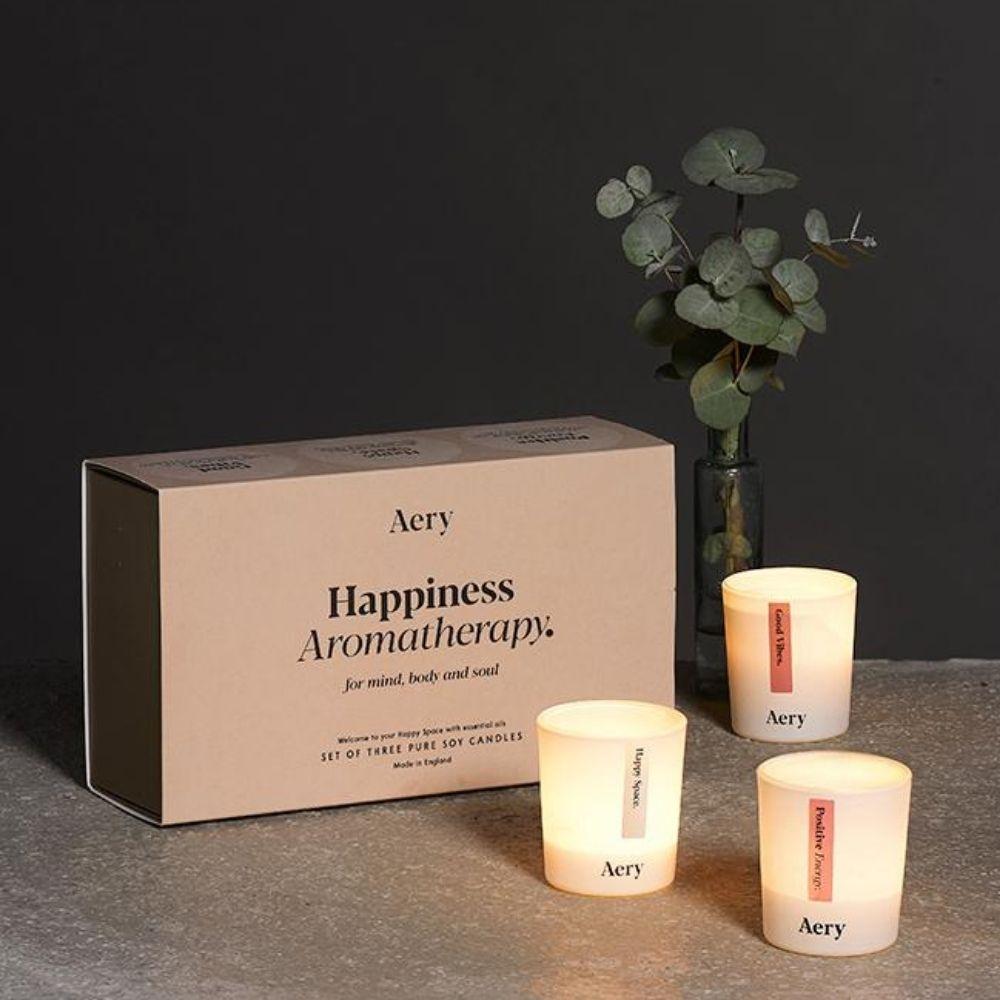 英國Aery|喜悅樂-香氛蠟燭三入禮