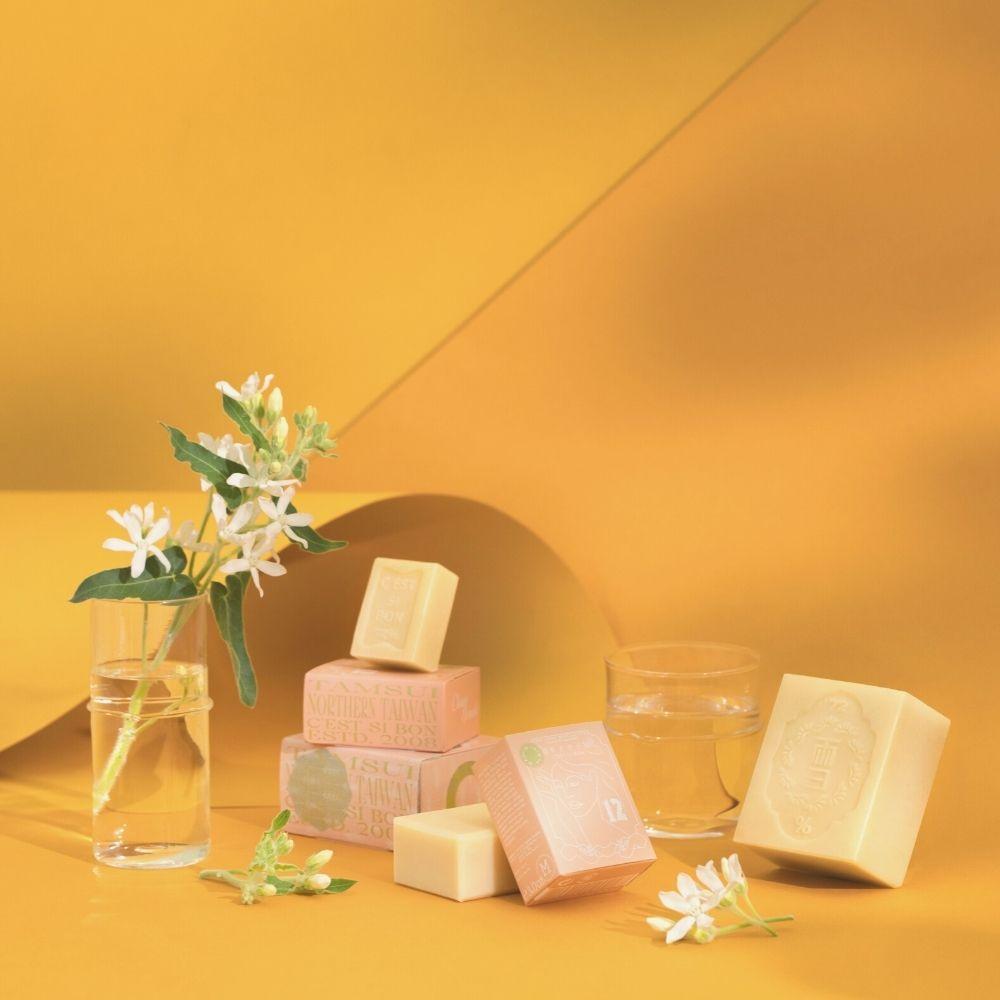 雪文洋行 潤澤香氛皂 No.012 清澈橙花 (L)