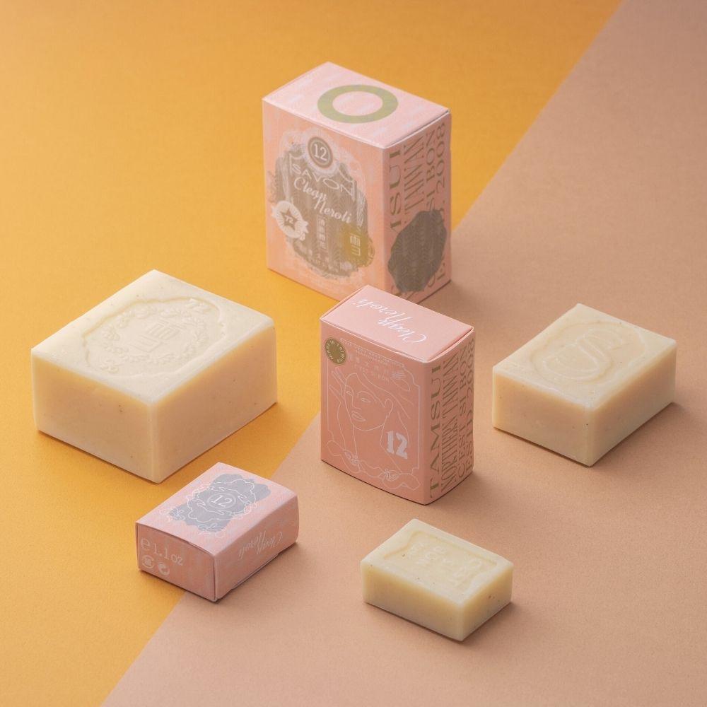 雪文洋行|潤澤香氛皂 No.012 清澈橙花 (M)
