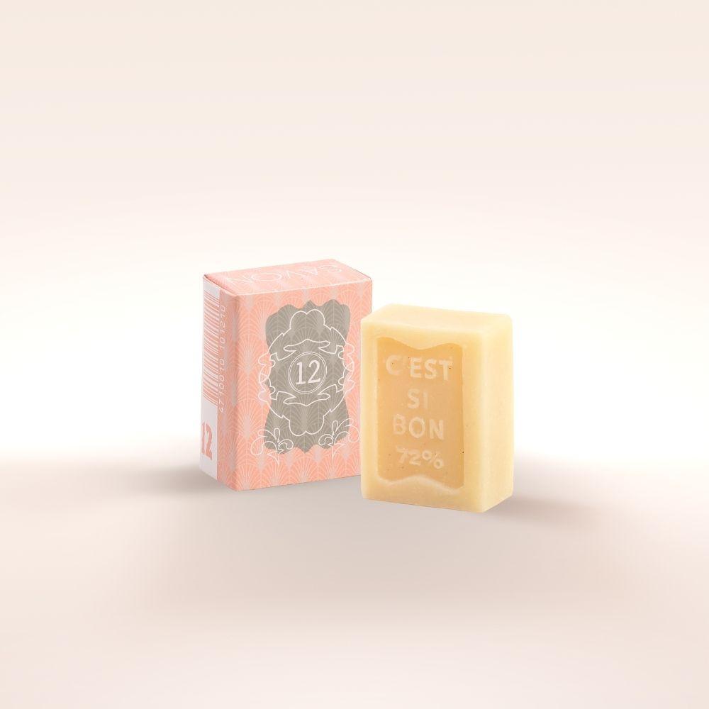雪文洋行 潤澤香氛皂 No.012 清澈橙花 (S)
