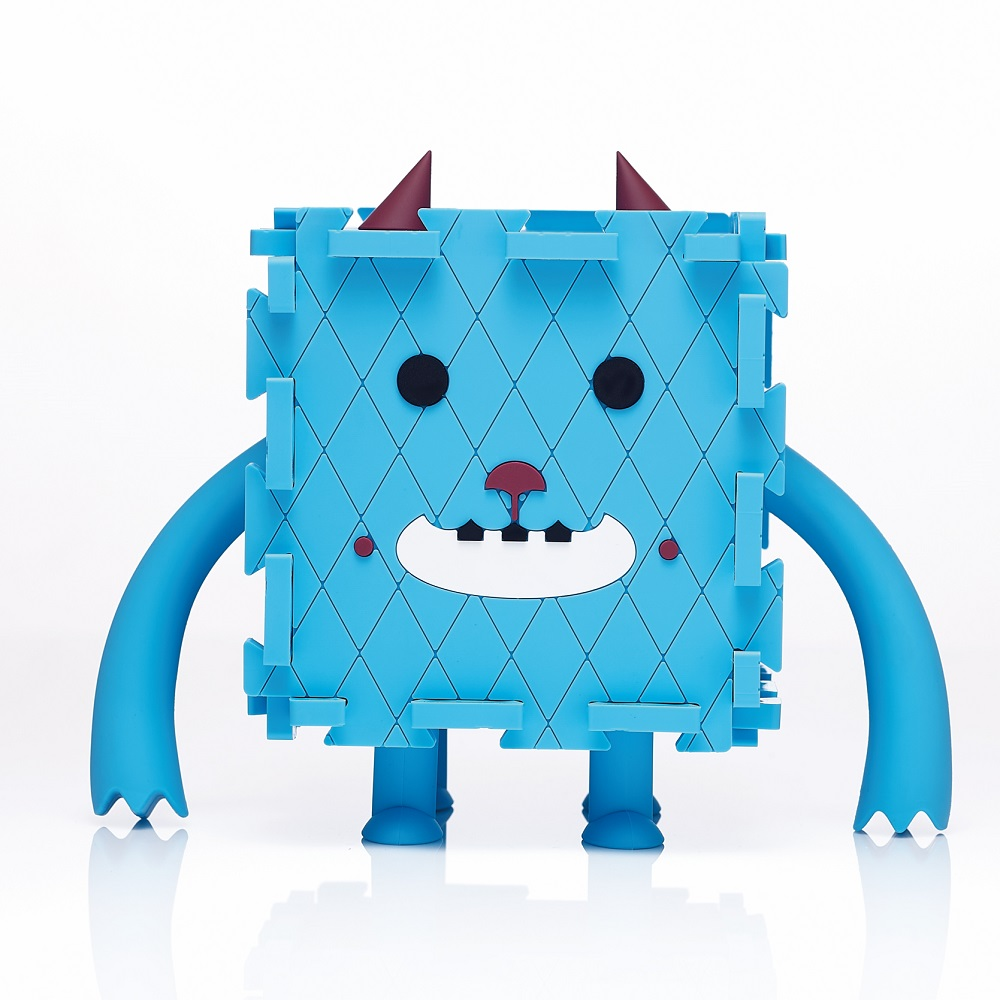 Dotfuns Monster Box 怪獸存錢置物盒(藍)