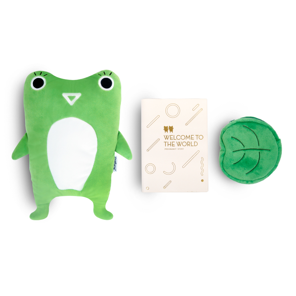 Dotfuns|Baby Funs 我的貝比手札-夏綠蒂(綠色)