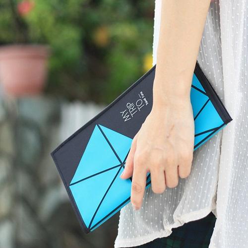 Dotfuns|travel funs 旅遊手札+書衣(藍)