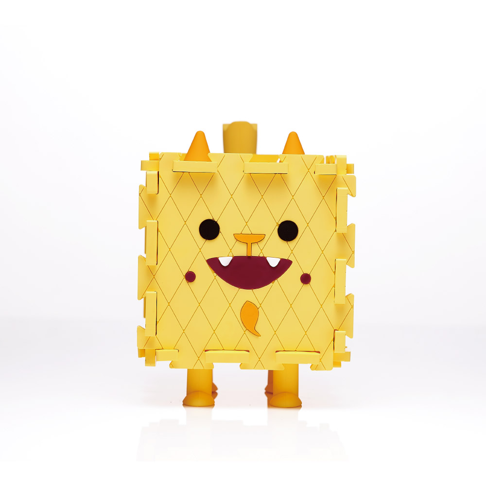 Dotfuns|Monster Box 怪獸存錢置物盒(黃)