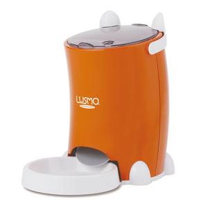 LUSMO|寵物定時自動餵食器(橘)
