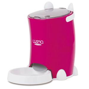 LUSMO|寵物定時自動餵食器(桃紅)